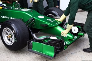Details cars Caterham F1 Team will make using 3D-printing
