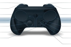 The new image of the controller indicates the emergence of Steam analog stick