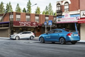Volvo opened a testing ground for the electronic driver's assistant