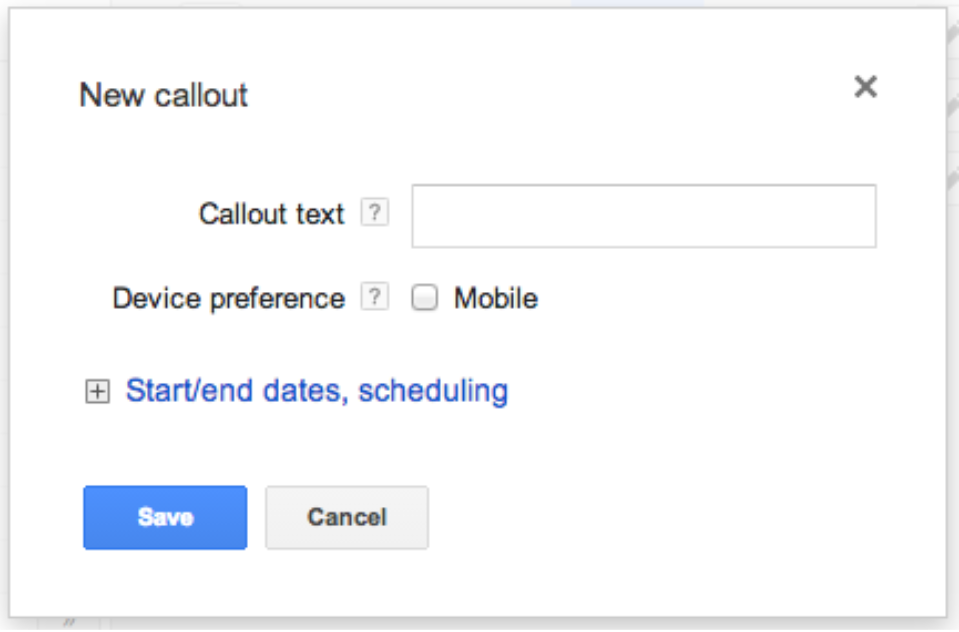 Google AdWords Callouts-2
